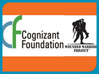Cognizant Foundation and Wounded Warrior Project Logos